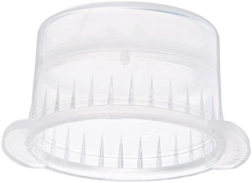 Globe Scientific 113140C Polyethylene Snap Cap with Two Thumb Tabs for Vacuum and Test Tubes, 13mm Size, Clear (Case of 1000)