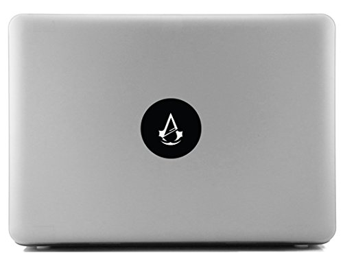 Price comparison product image Assassin's Creed Black SCI-FI / Comics / Games Laptop Skin Decal