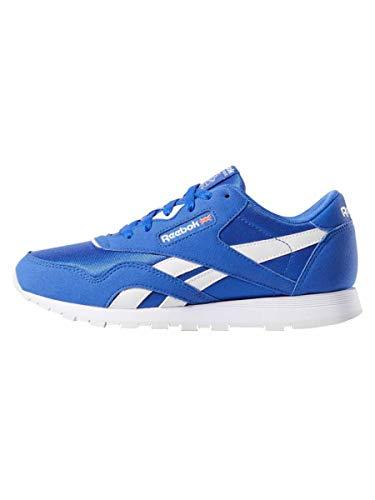 Reebok Blau 0 Mu Cl Nylon crushed Bambino Sneaker color white Cobalt rrqXw
