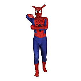- 31TIRZPjJrL - Spider-Man Into The Spider-Verse Costume Spin Vision Spider-Ham Cosplay Zentai Suit