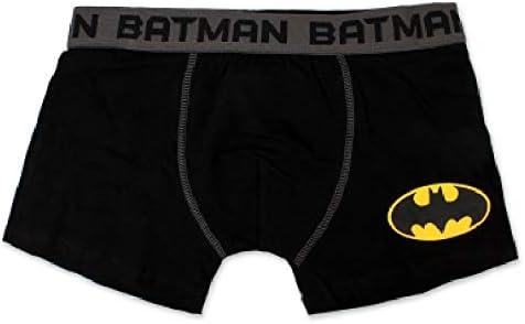 3 Boxer Batman Capitan America Superman Mis N S M L XL XXL