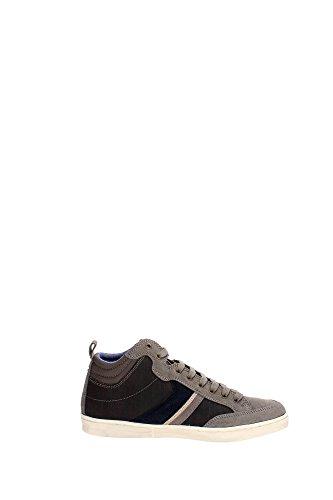 Wrangler WM152101 Zapatillas De Deporte Hombre Gamuza Gris Pardo