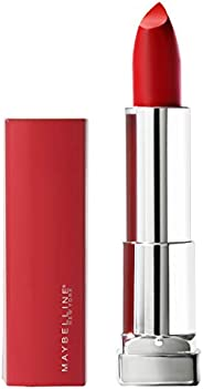 Maybelline New York Color Sensational Made for All Lipstick, Red For Me, Matte Red Lipstick, 0.15 Ounce