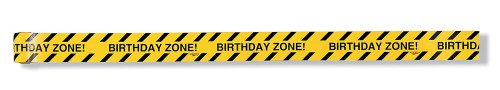 Creative Converting Under Construction Birthday Zone Warning