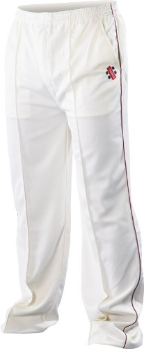 Super Cricket Pants Maroon Trim Youth by Gray-Nicolls