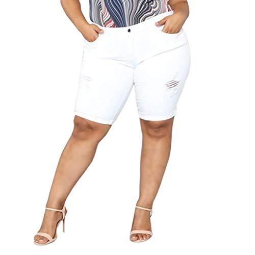 - Zainafacai Women's Stretch Loose Large Size Pants,Walking Shorts Women, Casual Stretch Elegant Golf Bermuda Shorts White