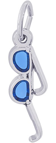 Rembrandt Charms 14K White Gold Sunglasses Charm (3 x 16 mm) by Rembrandt Charms