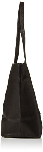 Piel Tamaño Negro Leather Negro Un Totalizador w6vx8q6Y