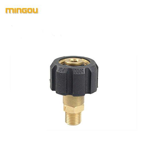 Mingou Adapter For Nozzle Foam Generator Gun Soap Foamer For Karcher High Pressure Washer (CW132)