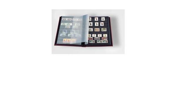 Amazon.com: Álbum para sellos (stockbook por Faro 32-black ...