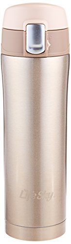 LifeSky Stainless Insulated Travel Champagne