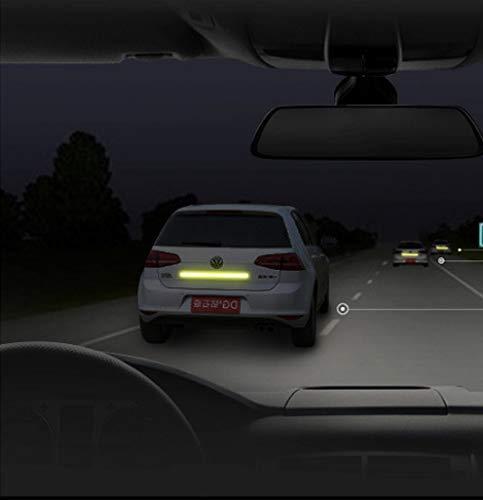 Shinequ-US Reflective Stripe,Reflective Warning Tape, 2Pcs High Intensity Reflective Safety Tape, 5 cm x 3 m by Shinequ-US (Image #3)