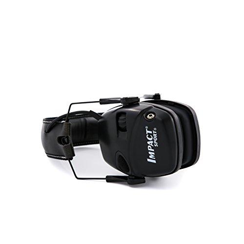Honeywell 1034490 Howard Leight Casque Antibruit Impact Sport Black, SNR 25 5