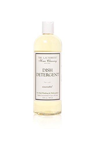 The Laundress - Dish Detergent, Unscented, Sink Washes & Dishwashers, Non-Toxic & Allergen Free, 16 fl oz