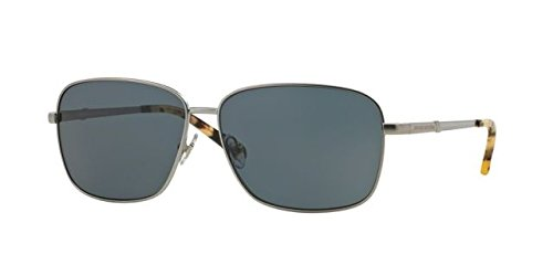 Brooks Brothers BB4032S Sunglasses 151587-58 - Matte Lt Gunmetal Frame, Grey - Brooks Shoes Mens Brothers