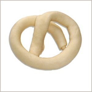 Wholesome Hide Beef Hide Rolled Pretzel – 4 – 5 inches across, My Pet Supplies