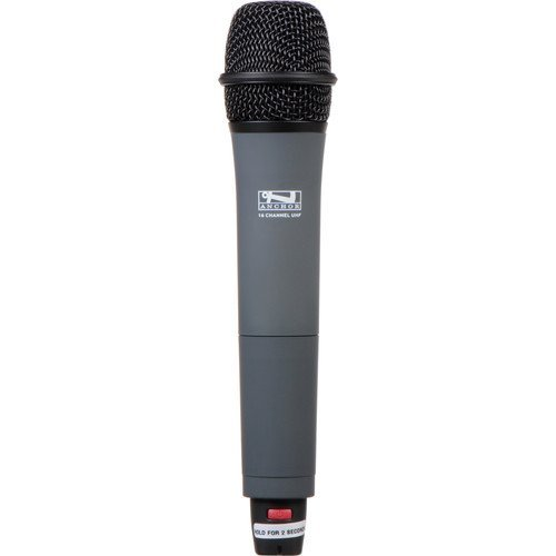 Image of Handheld Wireless Microphones Anchor Audio WH-8000 16-Channel UHF Wireless Handheld Microphone