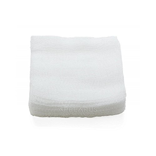 4x4 100% Cotton Esthetic Gauze Pads (200 Count)