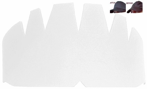 3Pk. WHITE Baseball Caps Inserts| Fitted Cap| Hat Stretcher| Ball Caps Form| Brim Hat Crown| Hat Support| Flex Fit, Snapback Hat Panel Liner| Hat Shaper Padding| Men's and Lady's Hat. 1 FREE INCLUDED.