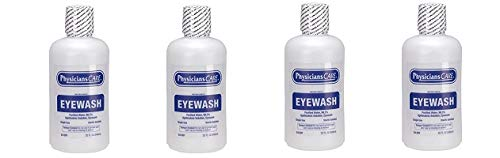 PhysiciansCare 24-201 Eye Wash Solution, 32 Ounce Bottle (4-(Pack))
