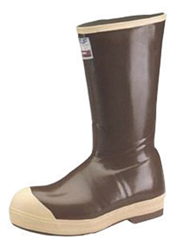 Honeywell HON22273G-8 Norcross Size 8 Xtratuf Copper Tan 16'' Insulated Neoprene Boots with Chevron Outsole and Steel Toe, English, 15.34 fl. oz. Volume, Plastic, 1'' x 1'' x 1''
