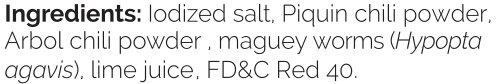 Sal de gusano - Gourmet edible worm salt from Oaxaca Mexico (1lb) by Merci Mercado (Image #6)