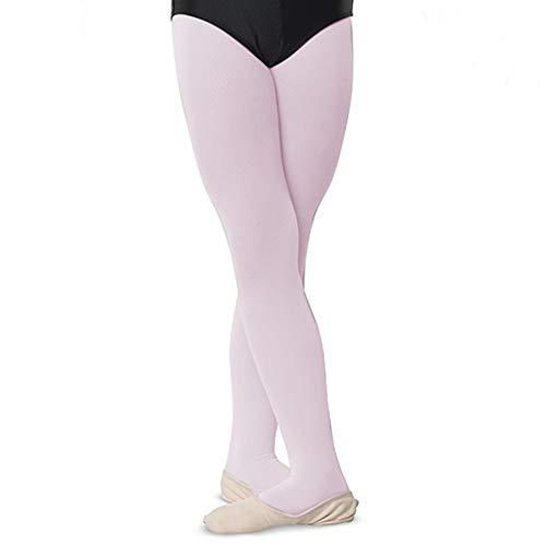Danshuz Nylon Tights - DanzNmotion by Danshuz Girl's Nylon Tights 4-6 Pink