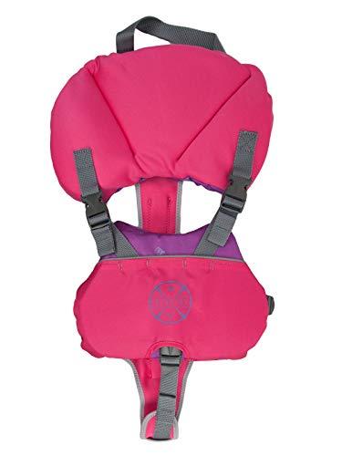 Level Six Puffer Baby Flotation Vest - Pink (Best Infant Life Jacket Under 20 Lbs)