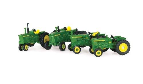 Ertl John Deere 1010 2010 3010 And 4010 Tractor Set, 1:64 Scale