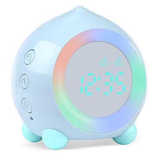 🥇 PROKING Reloj Despertador Infantil Digital