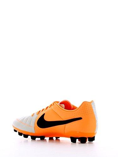 Nike Tiempo Genio Leather FG - Zapatillas de fútbol para hombre Sand/Orange