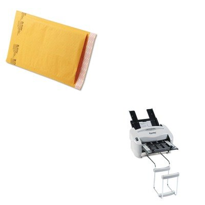 KITPREP7200SEL39094 - Value Kit - Sealed Air Jiffylite Self-Seal Mailer (SEL39094) and Martin Yale Model P7200 RapidFold Light-Duty Desktop AutoFolder (PREP7200)