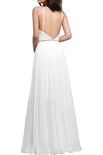 Missdressy -  Vestito  - Donna bianco 44
