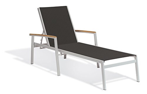 Sling Chaise Lounge Amazon: Amazon.com : Oxford Garden Powder Coated Aluminum Frame