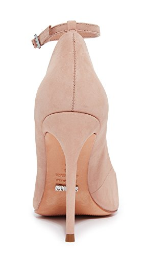 Schutz Women's Thaynara Ankle Strap Pointed Heels Amendoa popular for sale buy cheap in China new styles cheap online D5uadzww7e