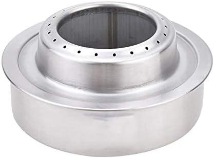 Silverdrew Estufa portátil de Alcohol líquido sólido Horno ...