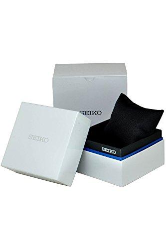 SEIKO SPL049P2 Men's Alarm Chronograph,World Time,Stainless Steel Case,Leather Strap,100m WR,SPL049