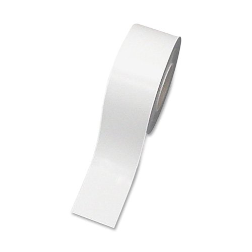 Magnetic Strip Roll, White, 2 in. x 50 ft. by Magna Visual