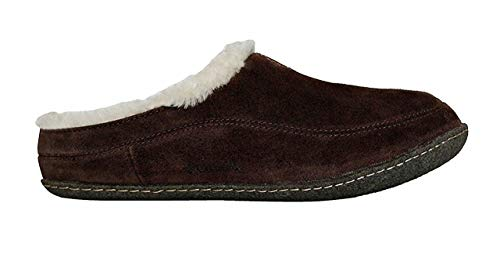 Columbia Dunmore Hill Men's Faux-Fur Slippers (12) (Columbia Packed Out)