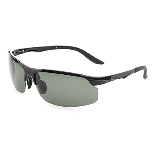 Laura Fairy New Design HD Night Vision Flexible Temple TR90 Frames Sunglasses-black (matte black - Driving Goggles Online
