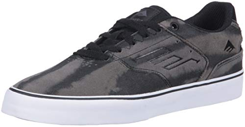 The grey black Vulc Reynolds Skateboard Grey Low Uomo Scarpe Emerica Da wPfvqHdwp