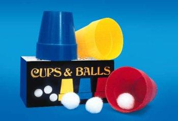 Magic Cups And Balls - Loftus International Empire Magic Cups & Balls Trick Novelty Item