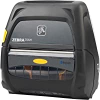 Zebra Technologies ZQ52-AUN0100-00 Series ZQ520 Mobile Printer, 4 Print Width, Dual Radio, Active NFC, Group O