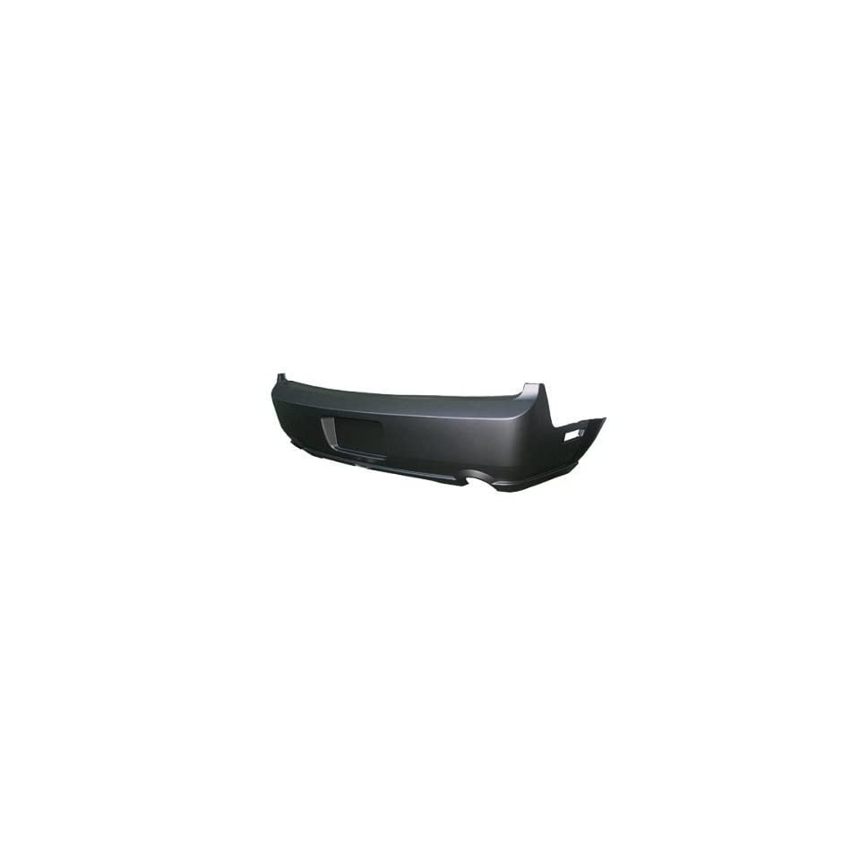 Ford Mustang Primed Black Replacement Rear Bumper Cover Automotive