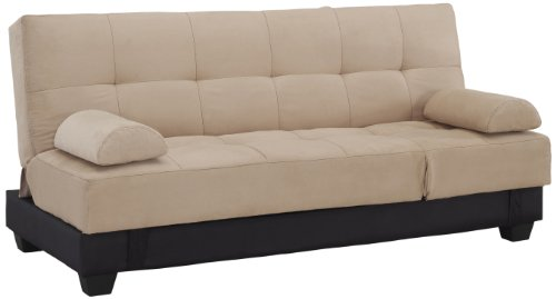 Westport Home Westin Contemporary Sofa Bed, Khaki Noticeable