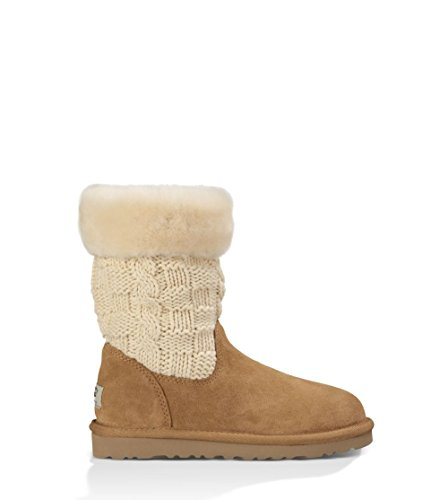 UGG Girls' Juniper Boot,Chestnut,US 1 M by UGG