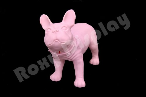 (MZ-KEVIN1PK-X) ROXYDISPLAYTM Realistic Style Small Dog Mannequin.Can be Used as Piggy Bank