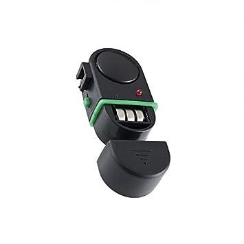 GEZICHTA Alarma de picada de pesca, alarma electrónica de cebo de pesca con luces LED