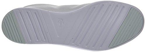 Blu Lacoste 1 Mujer Blanco Avenir SPW Lt Wht 118 Zapatillas para rwrEvZq