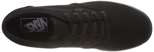 Noir Atwood black Low Canvas Mixte Vans Montantes Adulte PY0qYw